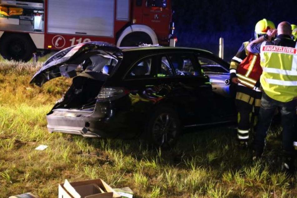 Der Fahrer überstand den Horror-Crash ohne Verletzungen. Ärger droht ihm aber eventuell vom Staatsanwalt.