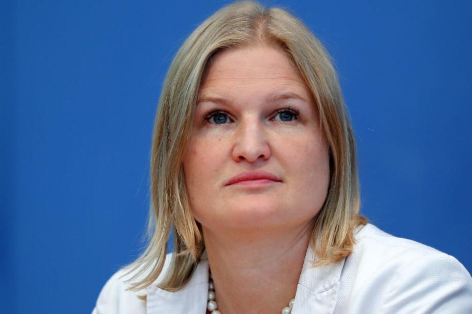 Katrin Ebner-Steiner: Stellvertretende Landesvorsitzende der AfD in Bayern.