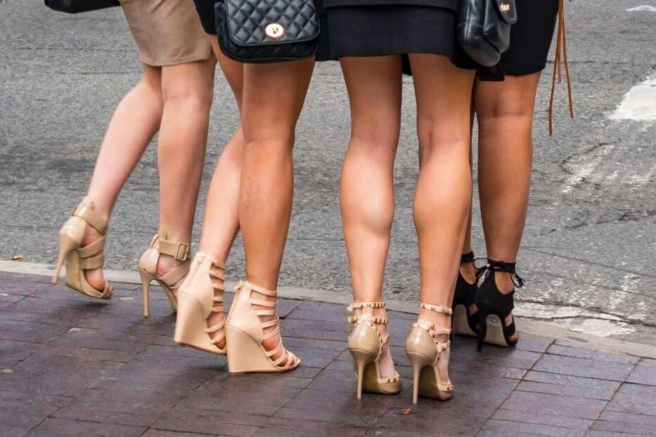 Studie: Hohe Schuhe nur für attraktive Männer?