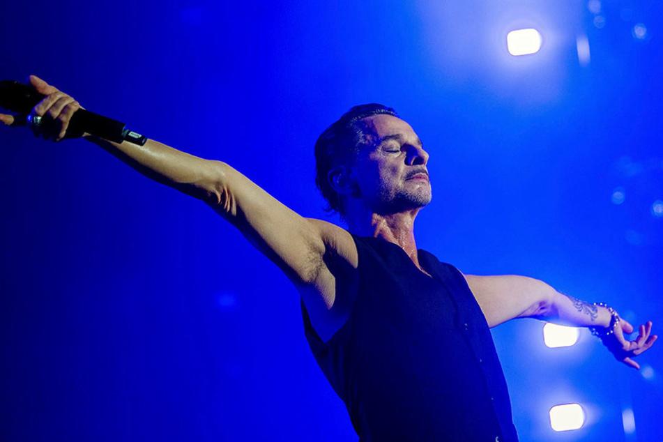 Dave Gahan! Depeche Mode treten am Samstag in Leipzig auf.