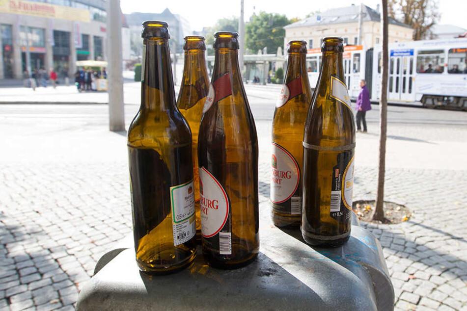 Die Alkoholverbotszone in Plauen wurde um ein Jahr bis Ende 2019 verlängert.