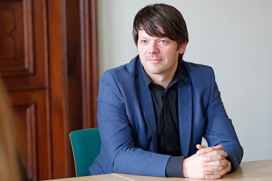 Zittaus Bürgermeister Thomas Zenker (41,Zittau kann mehr)