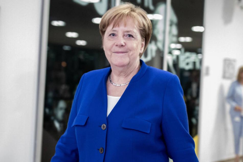 Angela Merkel kommt nach Köln.