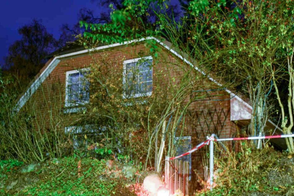 In diesem Haus wurde der Rentner ermordet.