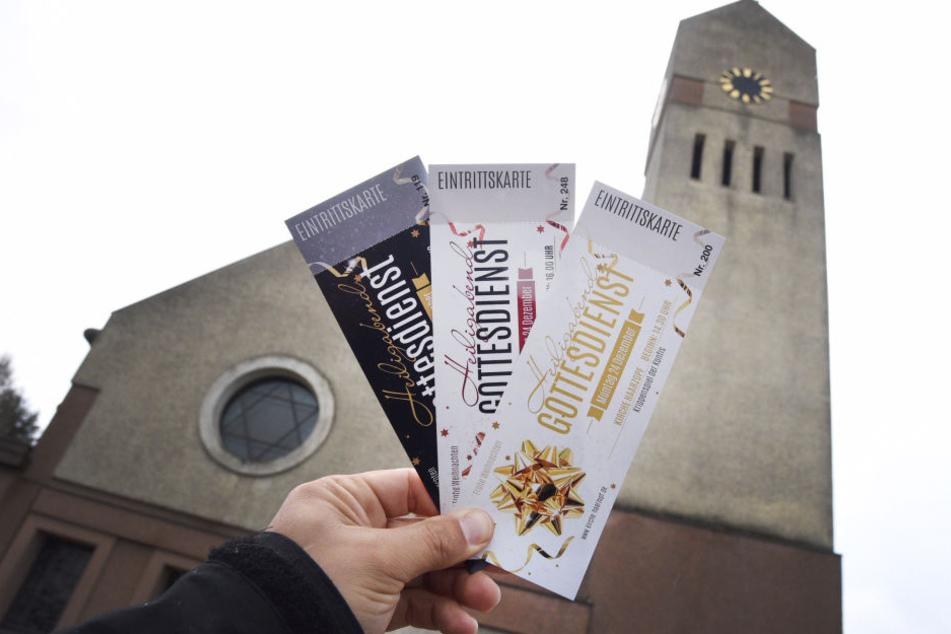 Mit den Eintrittskarten will die Gemeinde den Andrang an Heiligabend in den Griff kriegen.