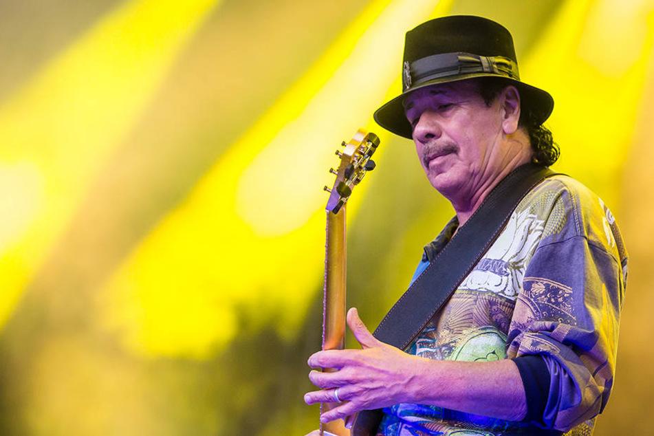 Carlos Santana kommt im August nach Dresden.