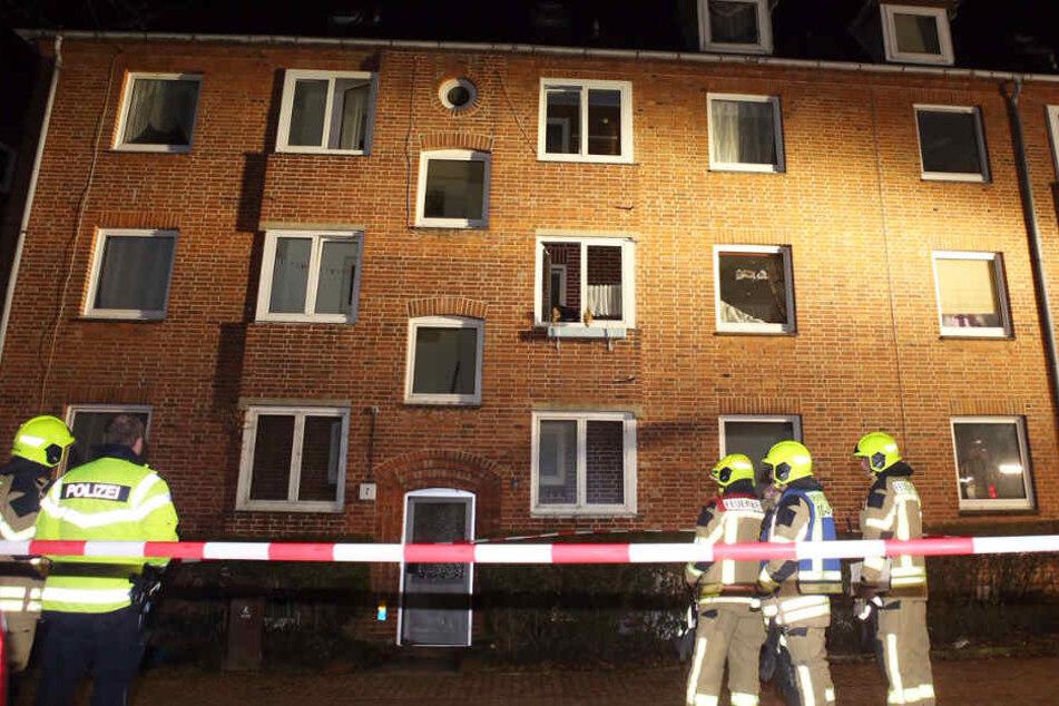 In diesem Haus in Geesthacht kam es zur Explosion.