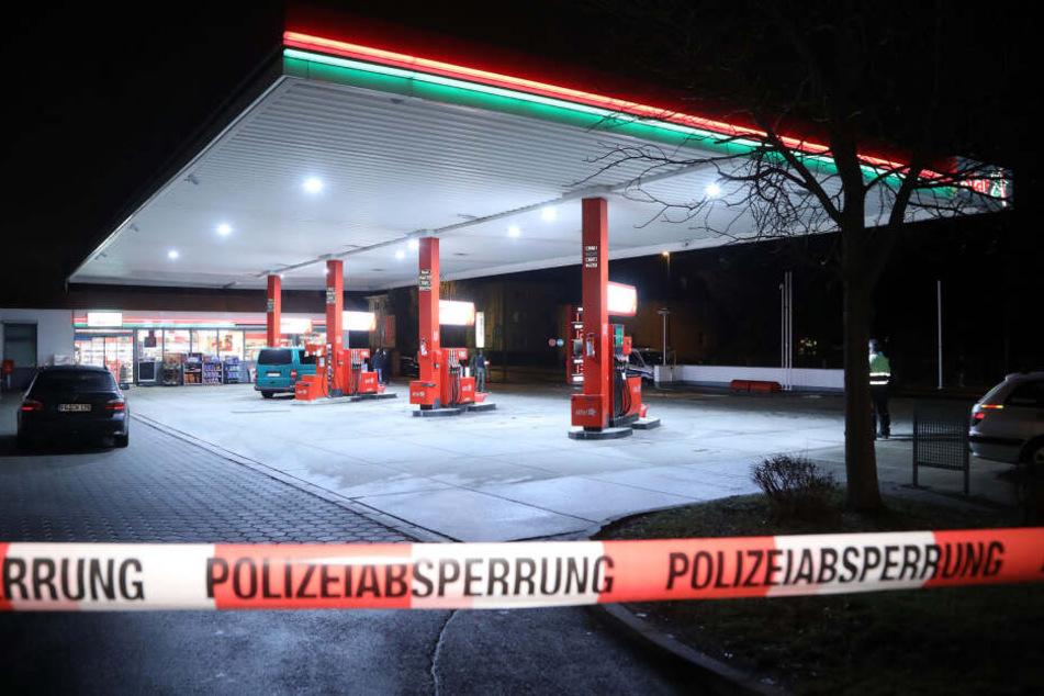 Dresden: Tankstellenüberfall in Dresden: Es war wieder die gesuchte Räuberin!