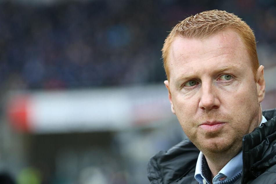 Chefcoach Maik Walpurgis steht bei Dynamo in der Kritik.