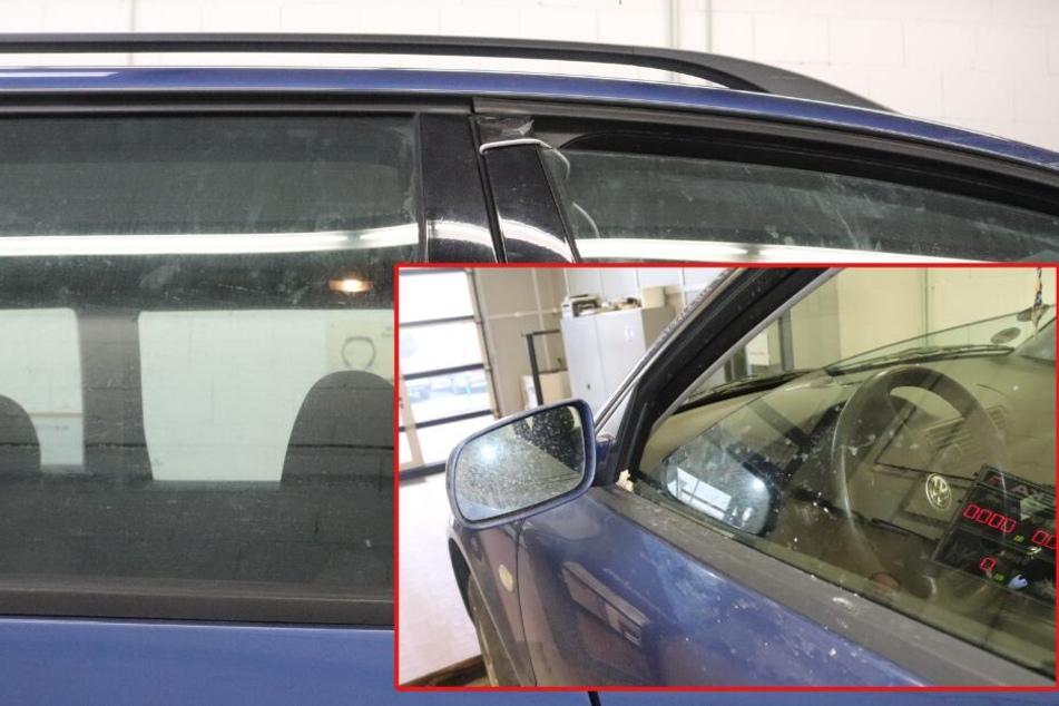 """Unglaublich, wie ein Mann sein schrottreifes Auto """"repariert"""" hat!"""