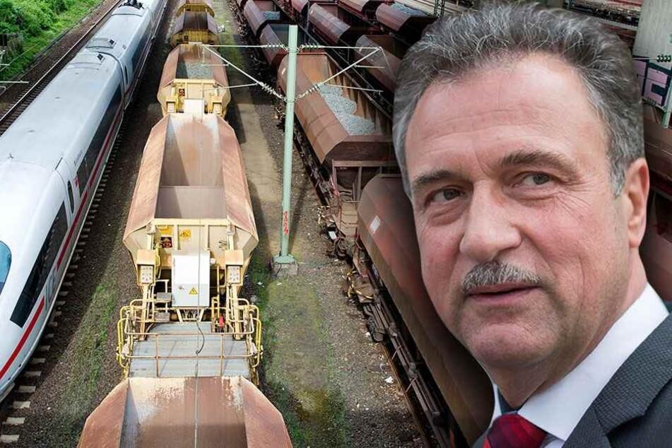 Claus Weselsky (58), Chef der Lokführergewerkschaft GDL