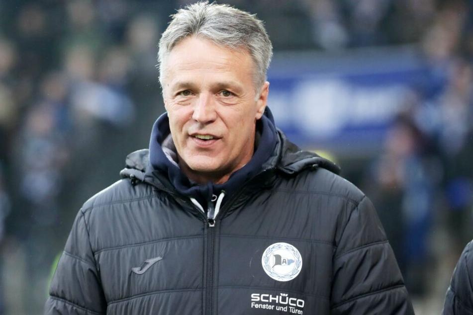 """Auf St. Pauli erwartet der Coach erneut eine """"heiße Atmosphäre."""""""