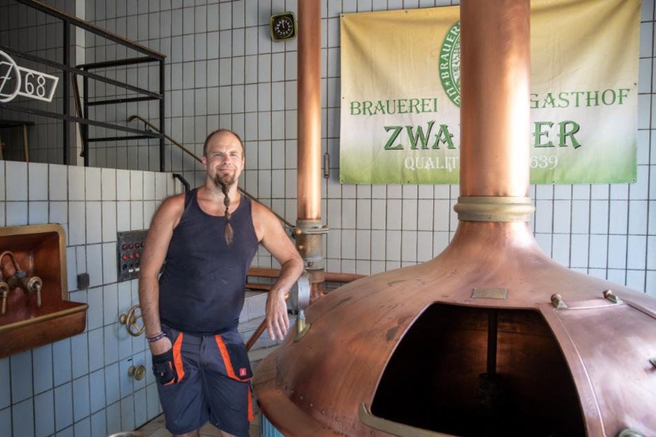 Christian Zwanzger, Brauerei und Gasthofbesitzer.