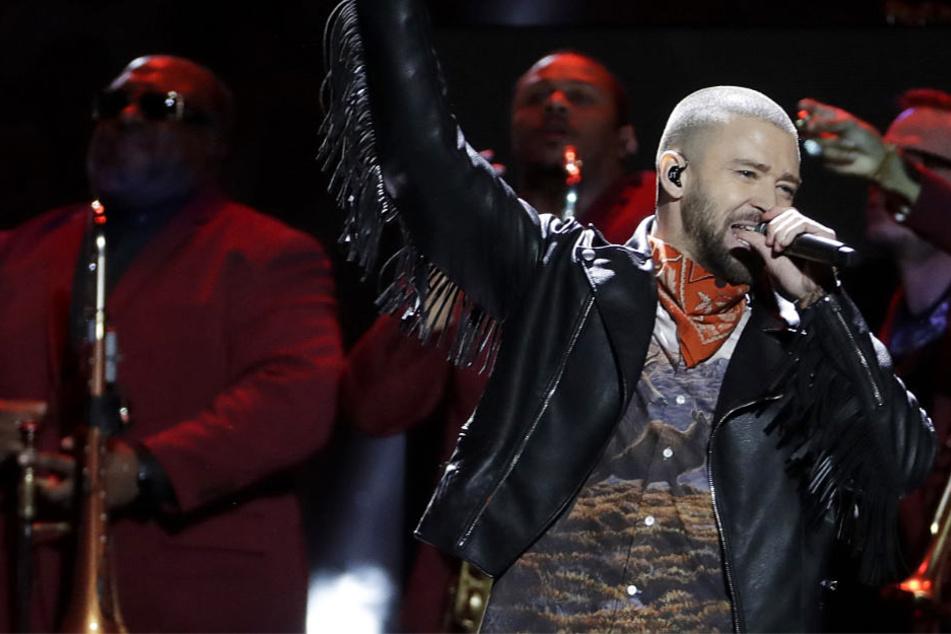 Beim 52. Super Bowl legte Justin Timberlake einen fetzigen Auftritt hin.