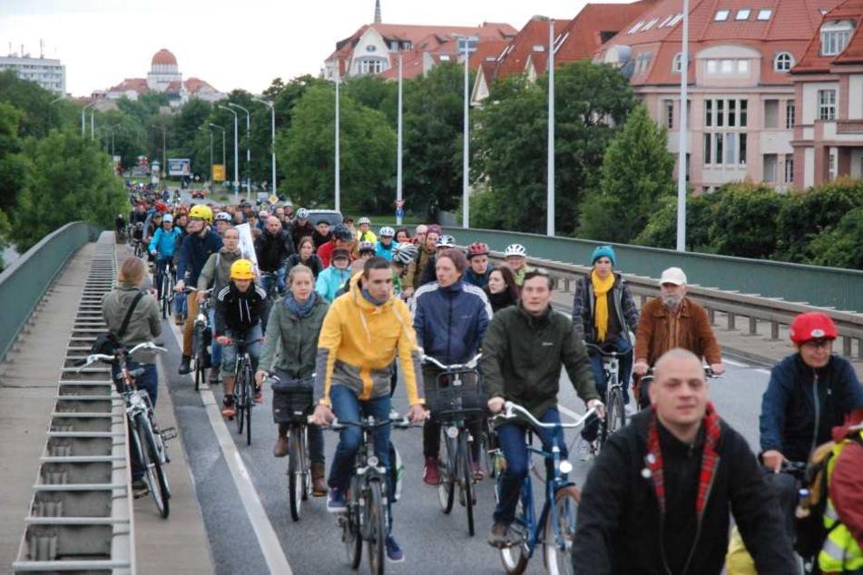 In der Messestadt wird gern geradelt! Und das nicht nur bei Veranstaltungen wie der Leipziger Radnacht.