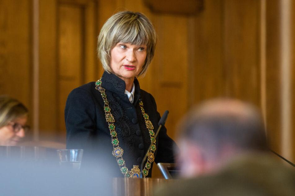 Oberbürgermeisterin Barbara Ludwig (57, SPD) wurde von Pro Chemnitz für ihre Absage zur MDR-Podiumsdiskussion kritisiert.
