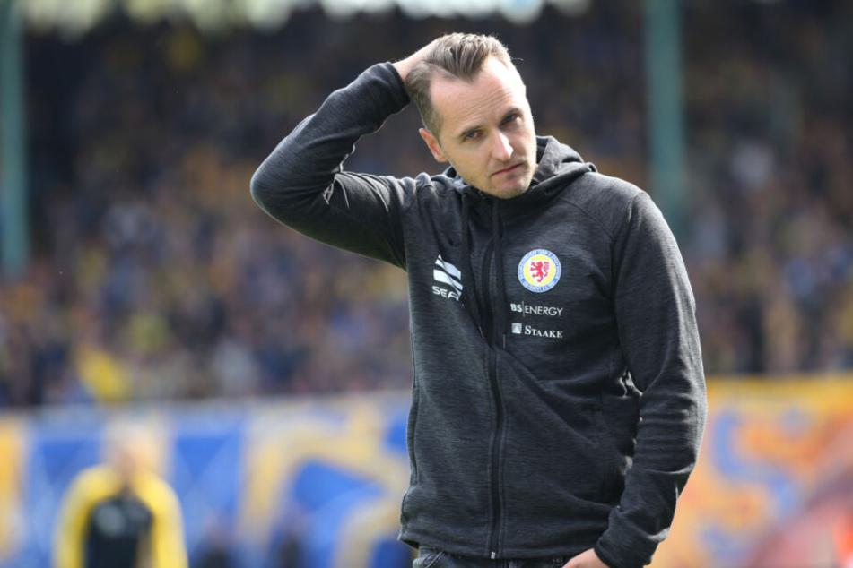 Christian Flüthmann ist nicht länger Trainer von Eintracht Braunschweig.