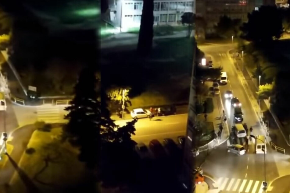 Drei Männer auf offener Straße erschossen