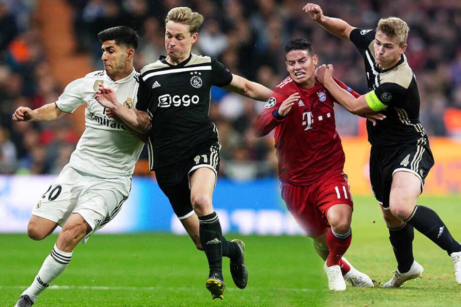 Amsterdam trumpft auf: Jetzt jagt halb Europa diese Ajax-Spieler