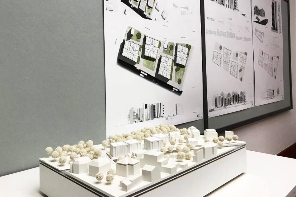 Ab dem 29. Januar können sich die Leipziger das Modell im Rathaus anschauen.