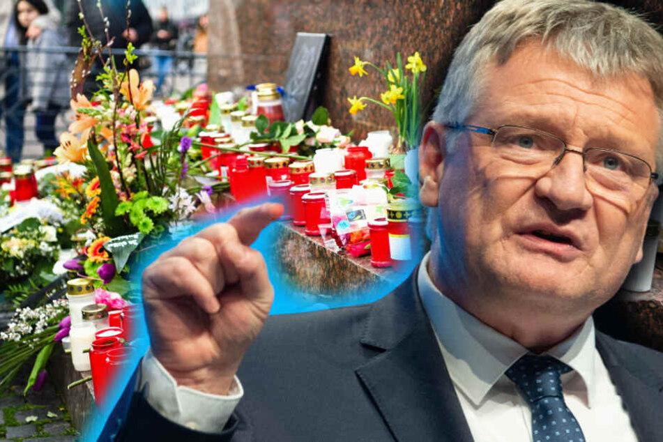 """""""Ekelhafte Instrumentalisierung der Opfer"""": AfD-Meuthen spricht über Bluttat von Hanau"""