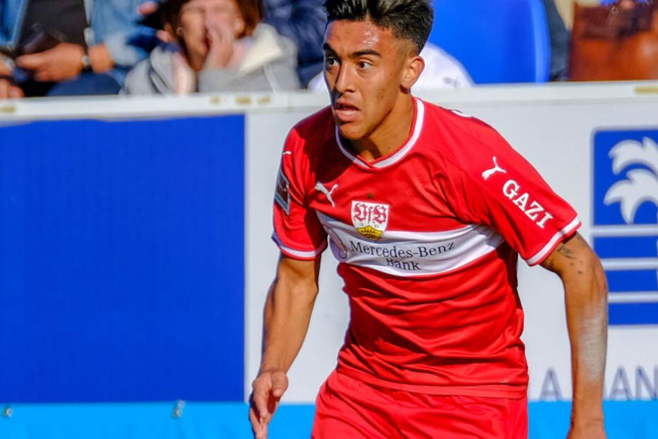 VfB-Stürmer weilt derzeit in Peru: Nicolás González.