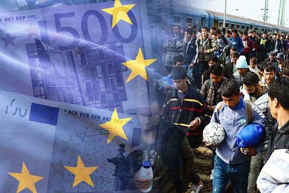 EU hilft Flüchtlingen mit weiteren 700 Millionen Euro!