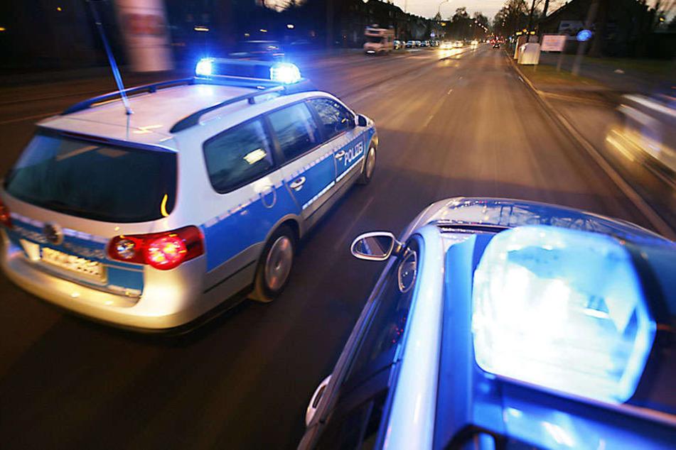 Die Polizei Leipzig ermittelt wegen schweren Raubes.
