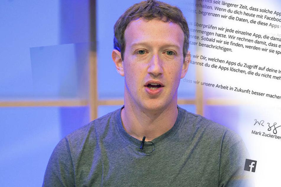 Nach Daten-Skandal: Jetzt entschuldigt sich Facebook bei den deutschen Nutzern