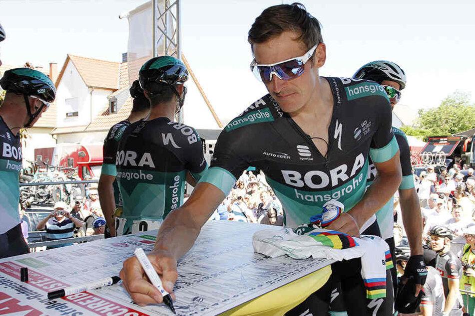 Marcus Burghardt wurde im Vorjahr in seiner Heimat in Chemnitz Deutscher Meister.