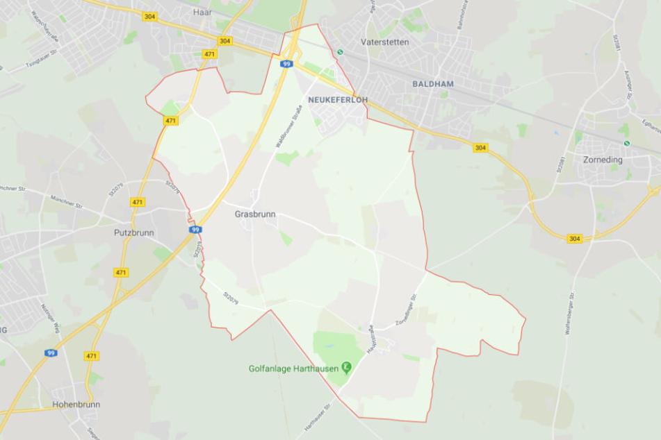 In Grasbrunn kam es zu einem Unfall mit einer schwer verletzten Fahrradfahrerin.