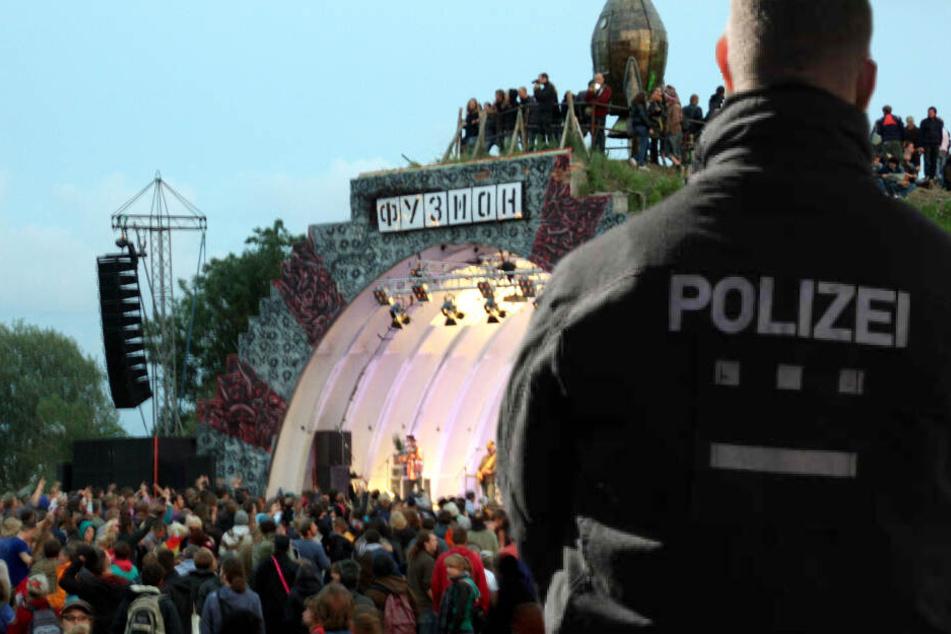 Auf der Fusion sollen erstmals Polizisten auf dem Festival-Gelände unterwegs sein.