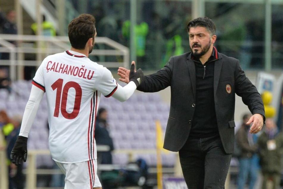 Will seinen Flügelspieler nicht abgeben: Milan-Coach und Ex-Profi Gennaro Gattuso (41).