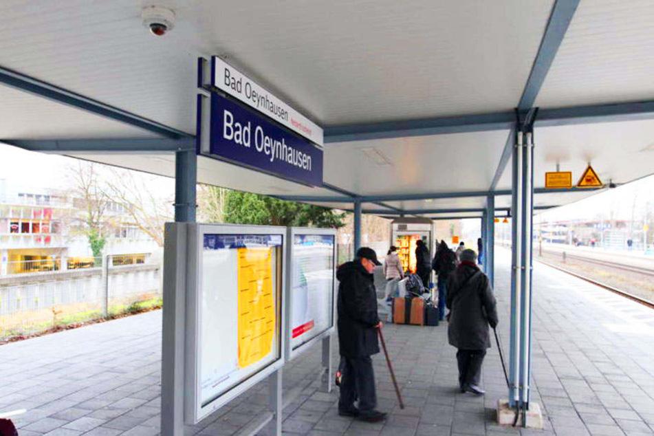 Am Bahnhof in Bad Oeynhausen gibt es zwar fünf Kameras, Aufnahmen machen die bisher aber noch nicht!