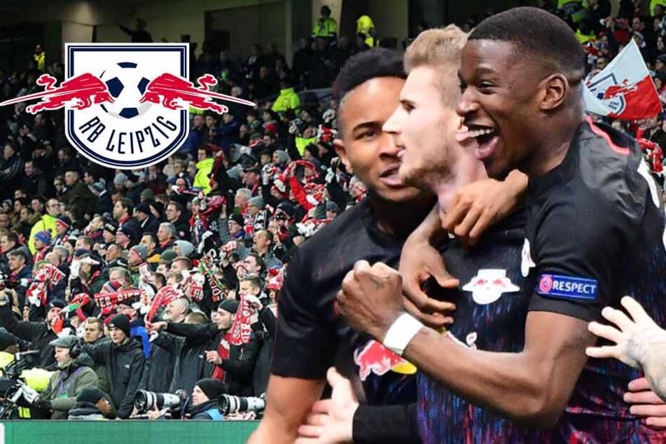 RB Leipzig gelingt Champions-League-Coup trotz Trikot-Panne