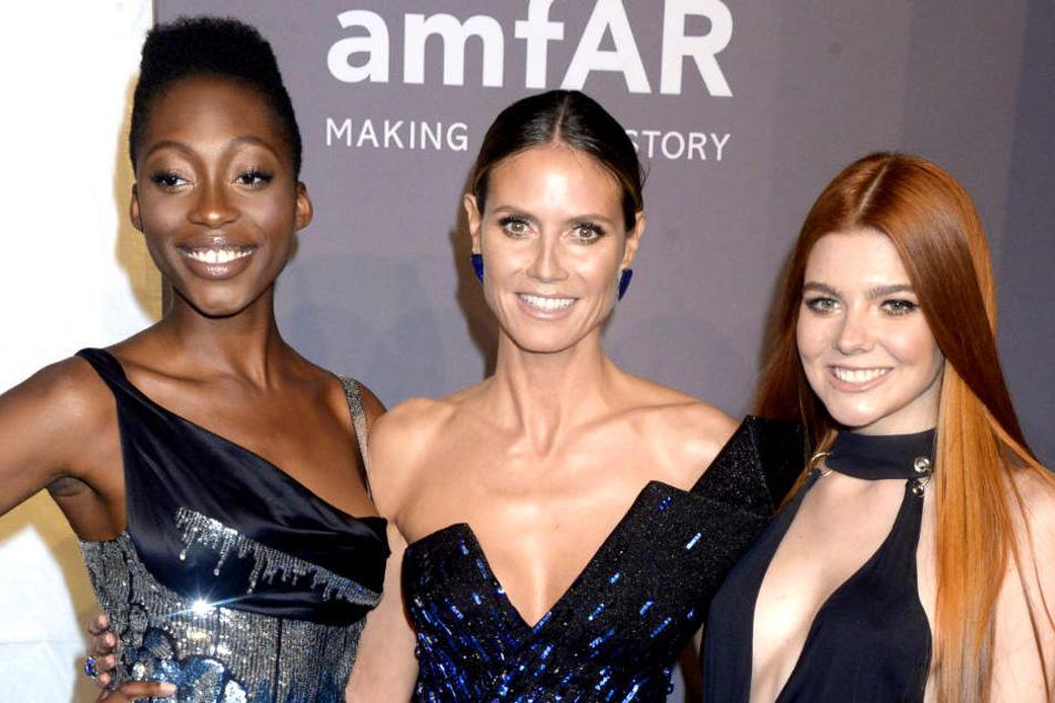 Sie waren Heidi Klums (45) Lieblinge: Gewinnerin Toni Loba (28, l.) und Klaudia Giez (21).