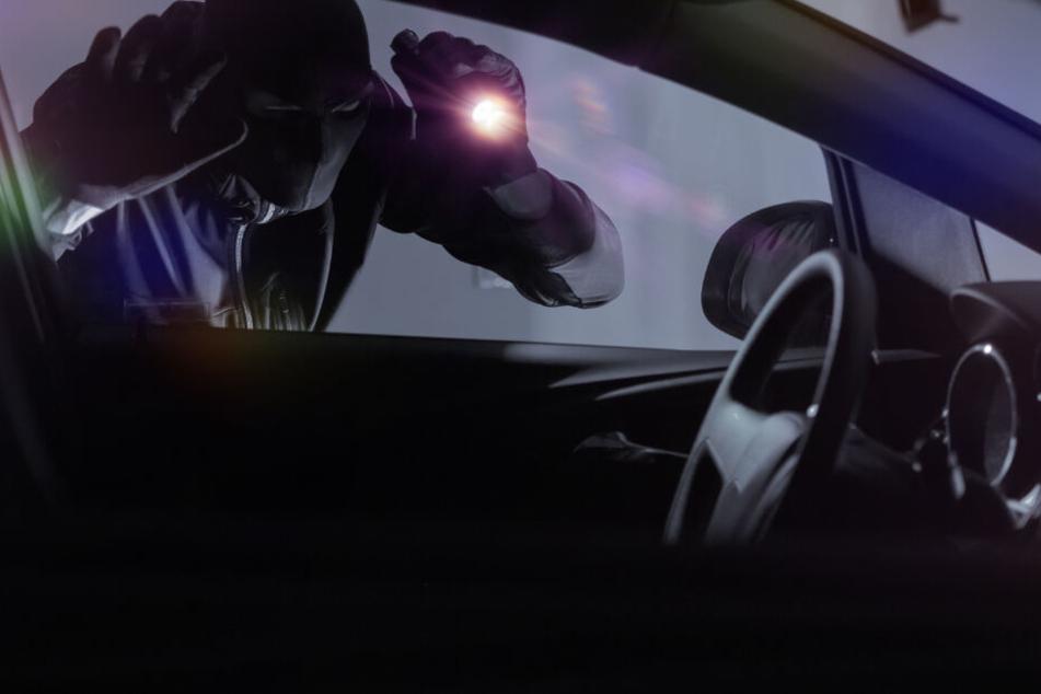 Sie machten sich an Autos zu schaffen: Diebe auf frischer Tat ertappt
