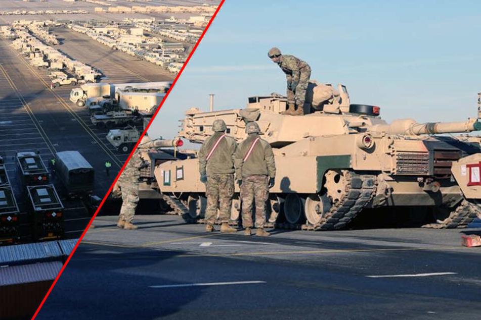 Tausende Militär-Fahrzeuge rollen quer durch Deutschland