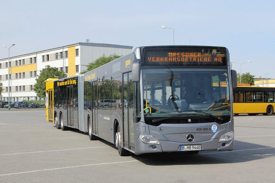 Die neuen Super-Busse sind 2,25 Meter länger als die aktuellen Fahrzeuge.