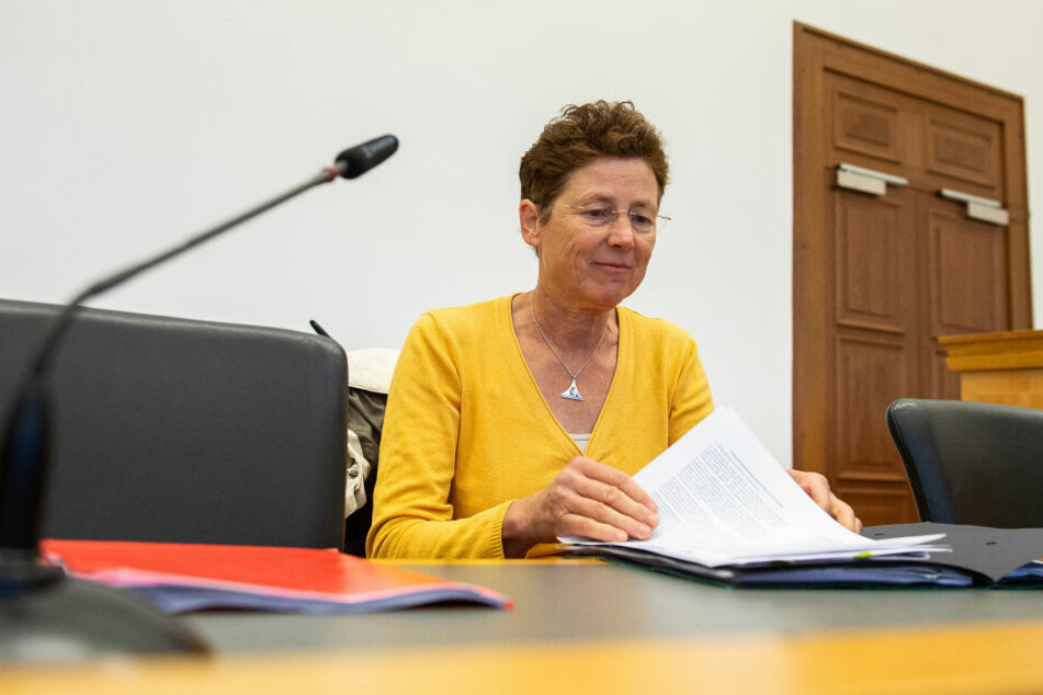 Frauenärztin Kristina Hänel vor Gericht.