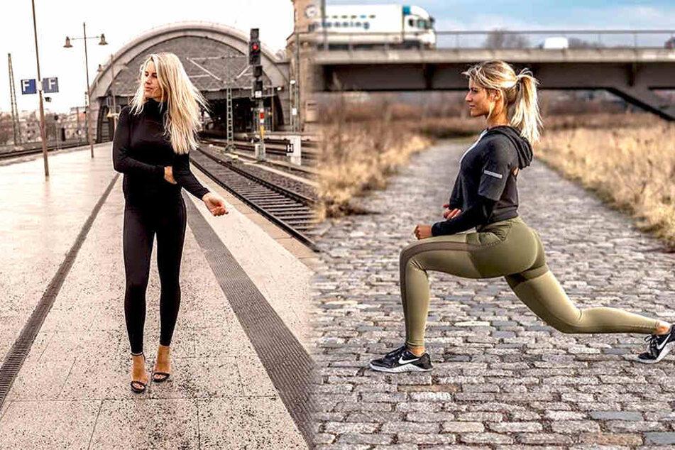 Vom Teenie mit angeblich üppigem Gesäß zur fittesten Polizistin Deutschlands: Adrienne Koleszár gelang die Verwandlung durch regelmäßiges Training und eine kohlenhydratarme Ernährung.