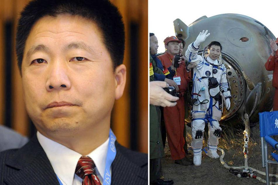 Yang Liwei (51) war als erster Chinese im All. Er soll da oben ein mysteriöses Klopfen gehört haben.