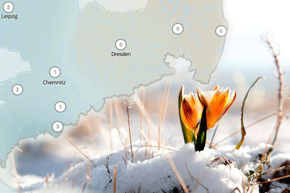 Vom kalendarischen Frühlingsbeginn merkt man noch nicht viel in Deutschland. (Symbolbild)