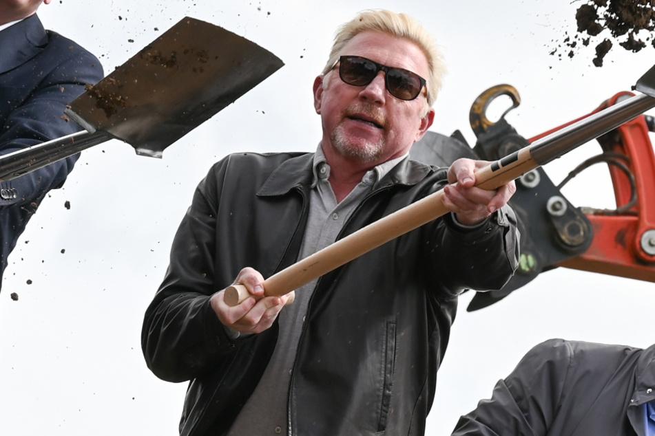 Boris Becker: Boris der Baumeister? Darum schwingt Ex-Tennis-Ass Becker die Schaufel