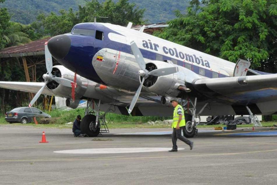 Zwölf DC3, die sogenannten Rosinenbomber, sind noch in Kolumbien im Einsatz.