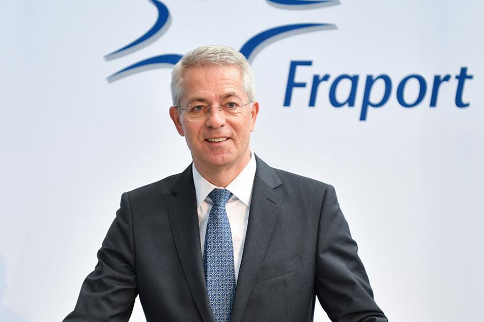 Stefan Schulte, Vorstandsvorsitzender von Fraport: Das Unternehmen soll jetzt auch in Peru wachsen. (Symbolbild)