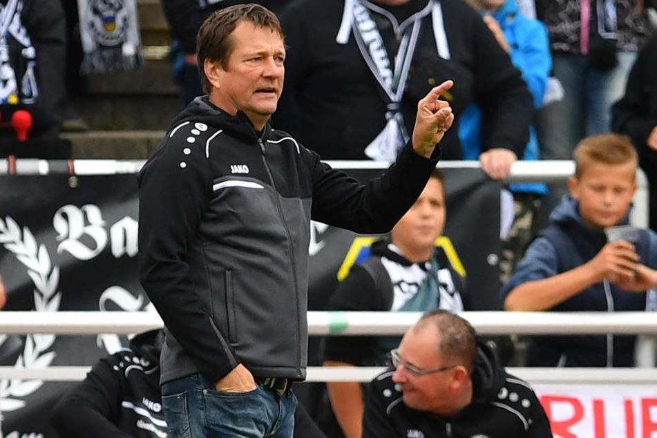 Budissa-Trainer Torsten Gütschow war stolz auf seine Mannschaft.