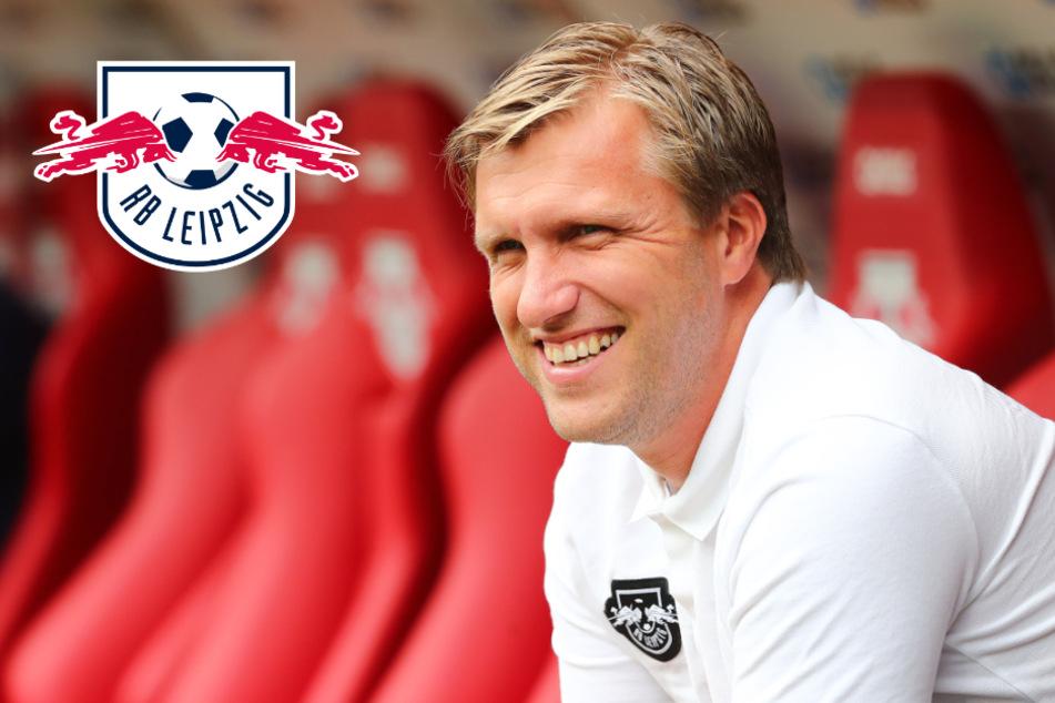 """RB Leipzigs Sportdirektor Krösche """"sehr zufrieden"""" mit Kaderplanung"""