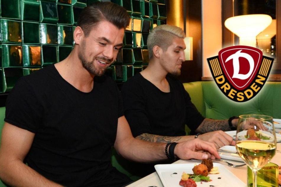 Hier stärkt sich Dynamo beim Champions-League-Dinner