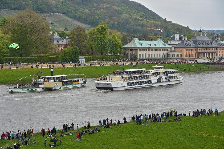 Die Jubiläumstour geht nach Pillnitz und zurück.